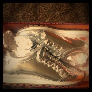 Silver Tory Burch Sports sneakers